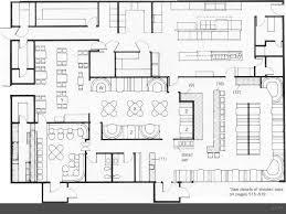 Restaurant Floor Plan Design Restaurant Floor Plan Layout With Kitchen Layout Included Shining