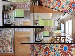 carreaux ciment cuisine appartement vendôme à lyon cuisine avec carreaux ciment