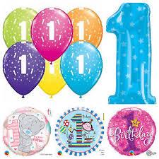 qualatex balloons age 1 happy 1st birthday qualatex balloons helium party