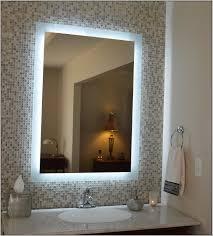 Diy Bathroom Mirror Ideas Backlit Bathroom Mirror Diy Bathroom Home Decorating Ideas Hash
