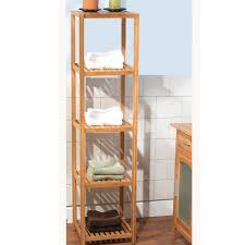 simple living bamboo 5 tier shelf by simple living shelves