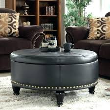 Large Tufted Leather Ottoman Leather Tufted Ottoman Coffee Table Bmhmarkets Club