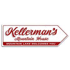 kellermans in dirty dancing kellermans mountain house arrow metal wall plaque art sign dirty