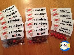 free printable reindeer activities reindeer noses bag topper free printable by kidzactivities net