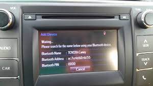 how to connect iphone 6 to toyota camry 2016 stereo deck youtube