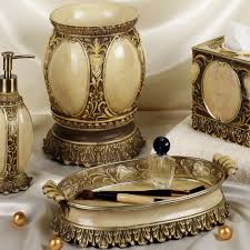 bath accessories sets ideas homesfeed bronze luxury bath accessories sets