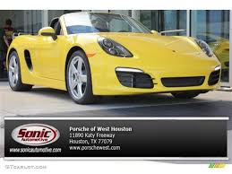 yellow porsche boxster 2015 racing yellow porsche boxster 104676749 gtcarlot com car