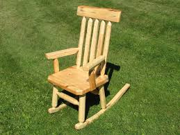 Chair Astonishing Polywood Adirondack Rocking Furniture Astounding Light Brown Log Rocking Chair As Rustic