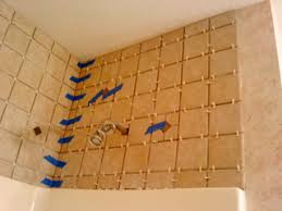 Installing Shower Tile Laying Tile Above Shower Surround Bathroom Cabinet Redo