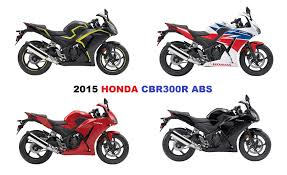 honda cbr bikes in india 2015 honda cbr300r abs fresh new look and arrives in august