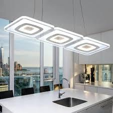 Kitchen Fluorescent Light Fixtures - modern commercial lighting office pendant lights glass room square