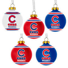 chicago cubs ornaments collection on ebay
