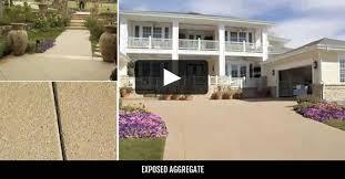 exposed aggregate pictures of concrete aggregates the concrete
