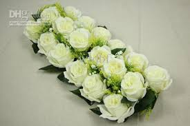 Fake Flowers For Wedding Artificial Flowers Simulation Rose Floral Arrangements Square