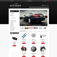auto parts zen cart templates