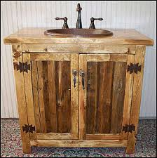 Diy Rustic Bathroom Vanity Tremendeous 25 Rustic Style Ideas With Bathroom Vanities Of Diy
