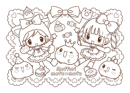 kawaii coloring pages trend diaet