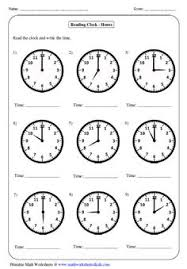 clock worksheets telling time to nearest half hour worksheet