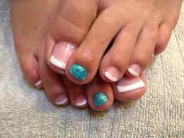 french toe nails design with flowers nail designs pinterest