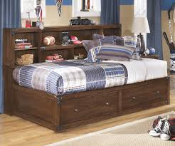 Boy Bedroom Furniture by Ashley Furniture Delburne Bookcase Studio Storage Bed For Boys