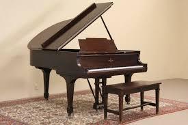 sold steinway 1913 model m mahogany grand piano u0026 bench harp