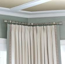 corner curtain rod bracket u2014 wow pictures corner curtain rods ideas