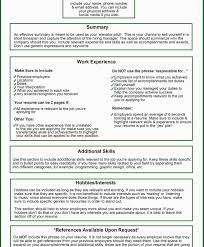 Job Resume What To Include by Types Of Hobbies To Put On A Resume Free Resume Example And