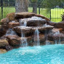 rock waterfalls for pools rock waterfall for pool 26