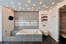 bathroom ceiling lights ideas modern suspended ceiling spotlights for bathroom ceiling lighting