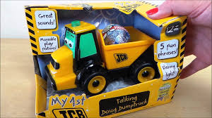 zobic dumper truck trucks for my 1st jcb doug the talking dump truck toy youtube