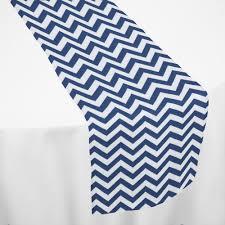 light blue chevron table runner by chair covers u0026 linens linens