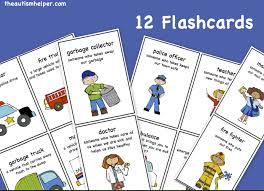 community worker flashcards by theautismhelper com community
