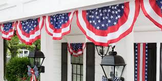 american flag banners flag bunting yard flags city