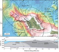 Map Of Hawaii Island Mānoa Researchers Discover Precursor Volcano To The Island Of