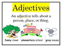 adjectives in sentences adjectives in sentences lessons tes teach