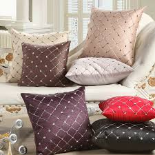 Decorative Pillows For Sofa by Compare Prices On Plaid Pillow Cover Online Shopping Buy Low