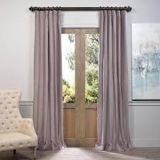flint grey vintage cotton velvet curtain velvet drapes