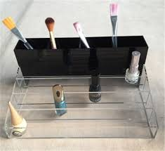 sale decorative wall shelves clear plastic nail polish rack