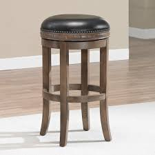 Leather Bar Stools With Back Furniture Backless Bar Stools Pottery Barn Backless Bar Stool