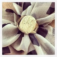 Monogram Signet Rings Debebians Fine Jewelry Blog A Monogram Signet Ring A True