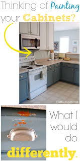 how to paint kitchen cabinets without streaks painting your kitchen cabinets what i would do differently