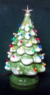 Vintage Atlantic Mold Ceramic Christmas Tree by Vintage Lighted Ceramic Christmas Tree Christmas Lights Decoration