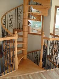 wood spiral staircases are a great choice for those who want to