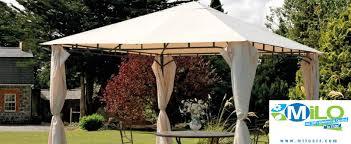 home design vendita online gazebo da giardino 3x4 con tende laterali e zanzariere arredo with