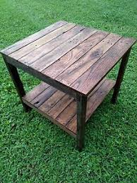 Rustic Coffee Tables And End Tables Rustic End Tables Ebay