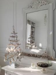 vintage silver christmas tree white christmas pinterest