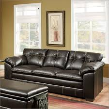Brown Bonded Leather Sofa Bonded Leather Sofa Home Design Ideas
