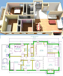 3d small house interior design homepeek