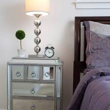 Mirrored Dressers And Nightstands Furniture Fascinating Bedroom Design Ideas With Cheap Mirrored