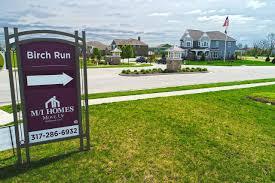 Birch Run Michigan Map by Birch Run At Wynne Farms Homes For Sale In Brownsburg In M I